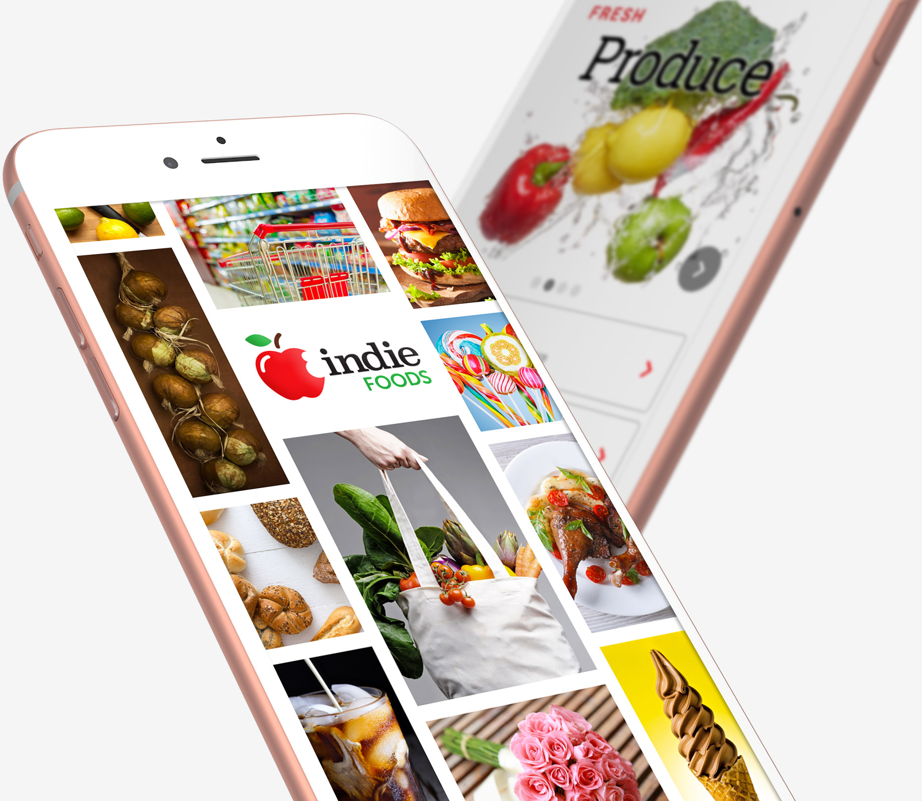 Indie Foods Mobile App